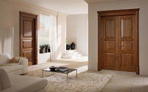 Usi lemn stil clasic