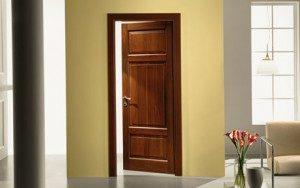 usi lemn stilul clasic minimal