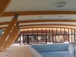 Pereti cortina lemn - Strand Deva
