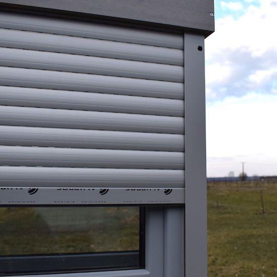 Rulouri din aluminiu pentru protectie solara