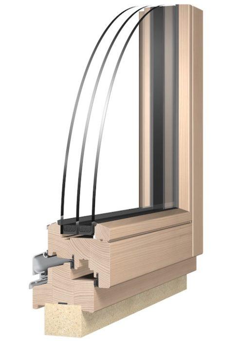colt fereastra lemn 88 mm